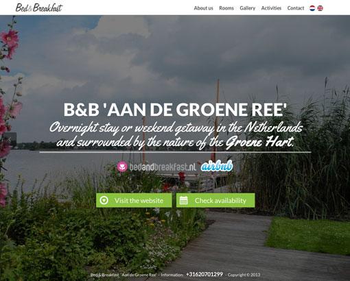 Homepage Aan de Groene Ree