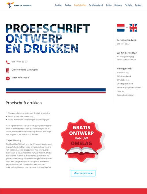 Offsetdrukkerij Haveka Dissertations