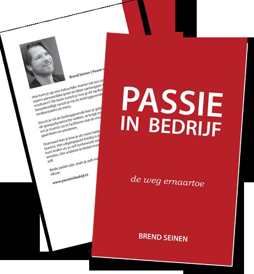 Passie in Bedrijf cover design